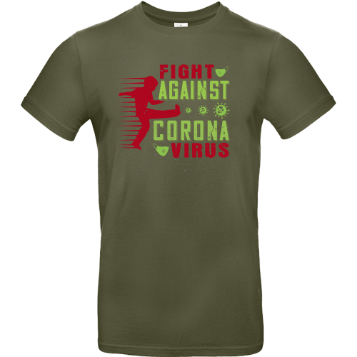 T-Shirt - FIGHT AGAINST CORONA VIRUS 1