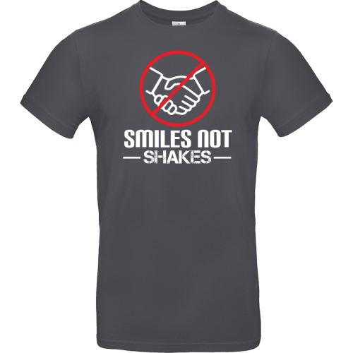 T-Shirt - SMILES NOT SHAKES