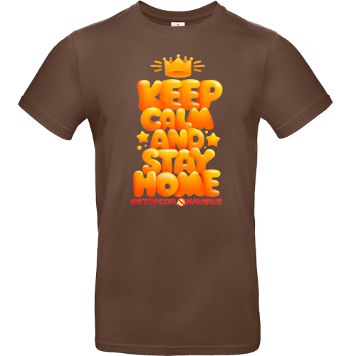 T-Shirt - KEEP CALM AND STAY HOME