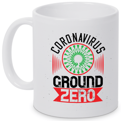 Motivtasse CORONAVIRUS GROUND ZERO